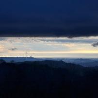 La costa de Blanes i Lloret de mar vista des d'Els Cortals