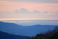 Vista del mar des d'Els Cortals
